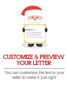 customize and preview your letter